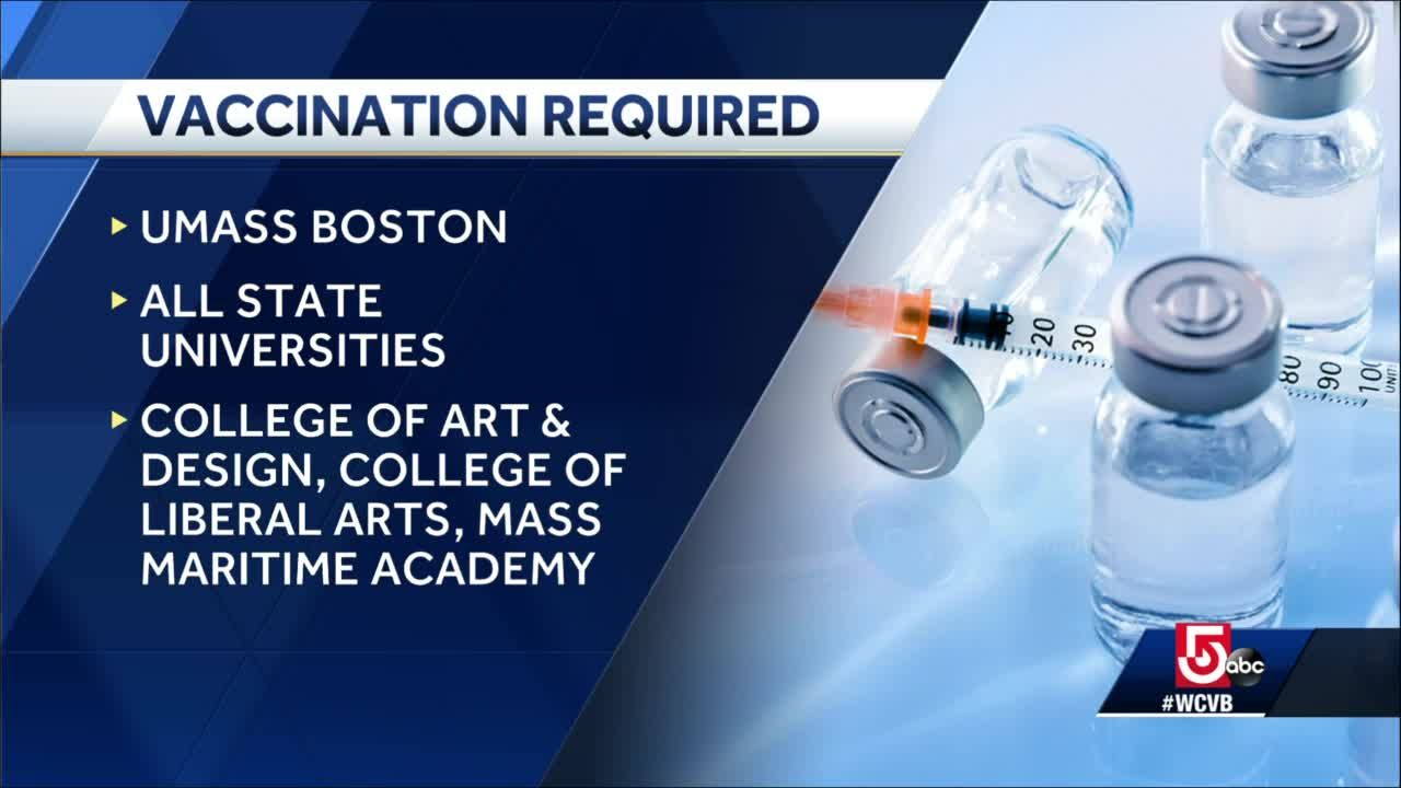 news.yahoo.com: State universities to require COVID-19 vaccinations for students