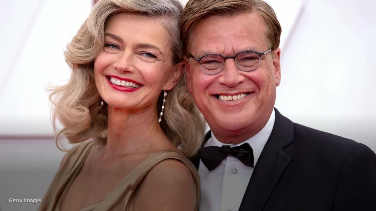 news.yahoo.com: Paulina Porizkova talks snuggling with Aaron Sorkin at the Oscars