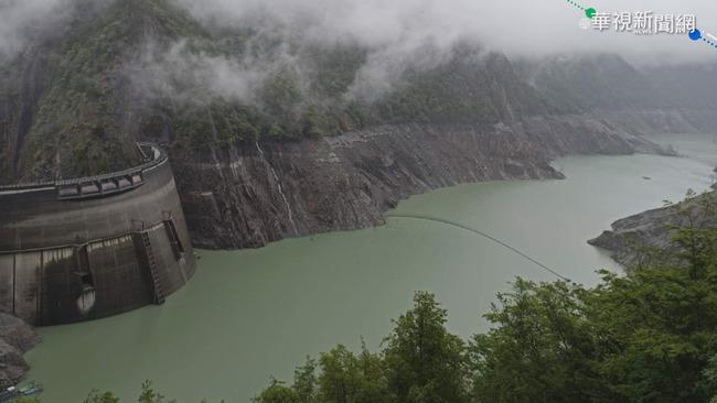 大雨解渴 水庫可望進帳1318萬噸水量