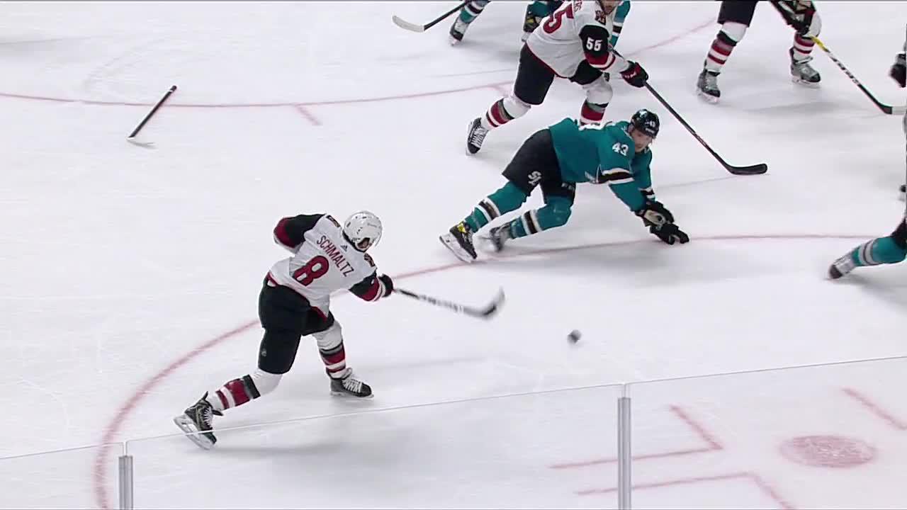 a Spectacular Goal from San Jose Sharks vs. Arizona Coyotes