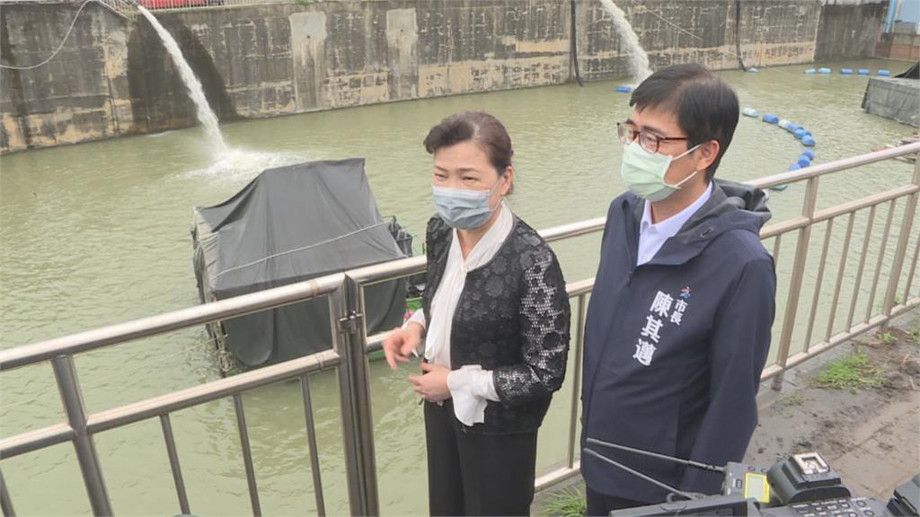 王美花視察高雄抗旱水井 5月底前將增48萬噸用水