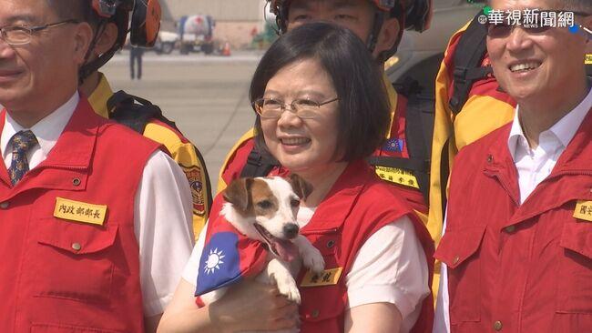 領養退役搜救犬有特權? 總統:依法申請