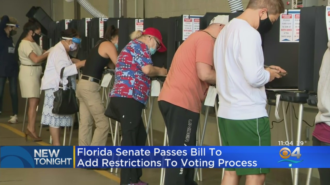 Florida Senate Passes Bill To Add Restrictions To Voting Process ...