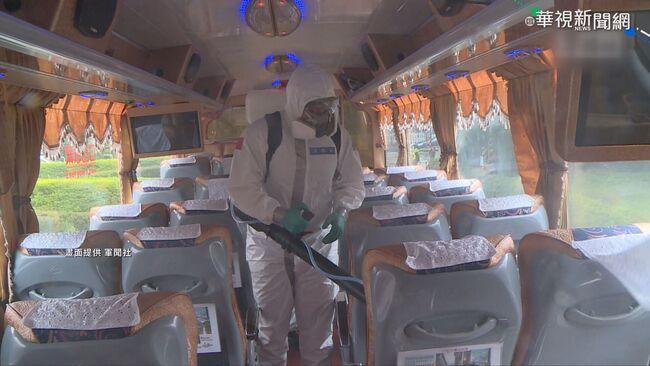 接送諾富特人員 遊覽車司機發燒送醫