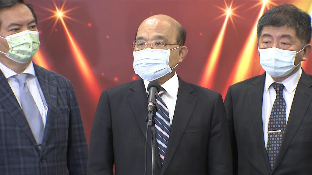 快新聞/陳時中挨批防疫不周 蘇貞昌:再神仙也做不到沒破口