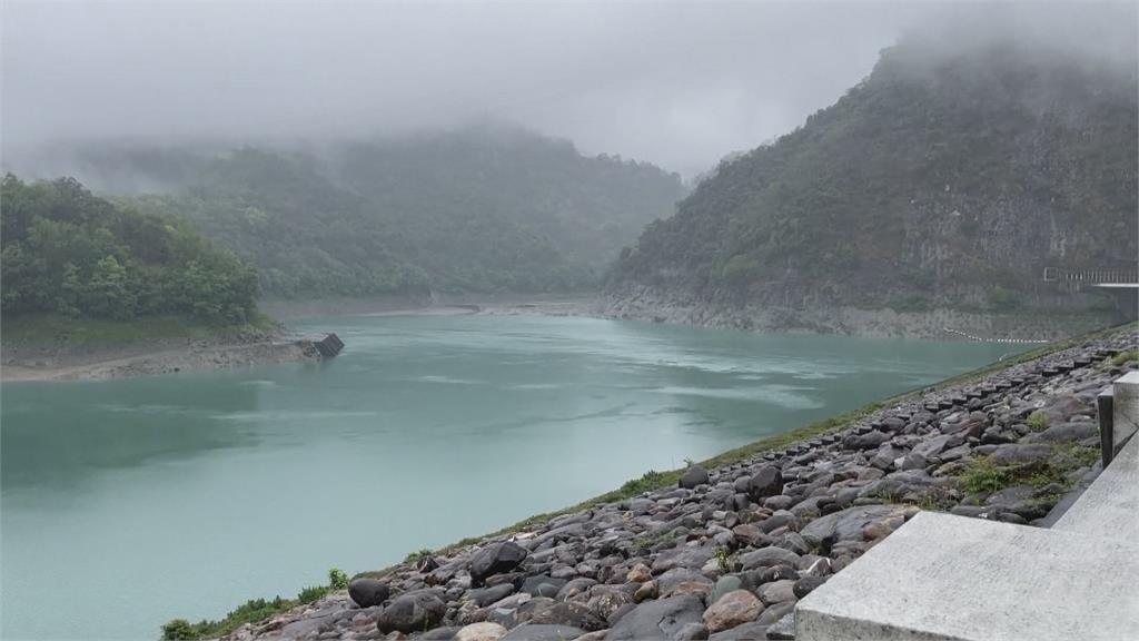 石門創建壩來第二低水位 翡翠蓄水量跌破70%