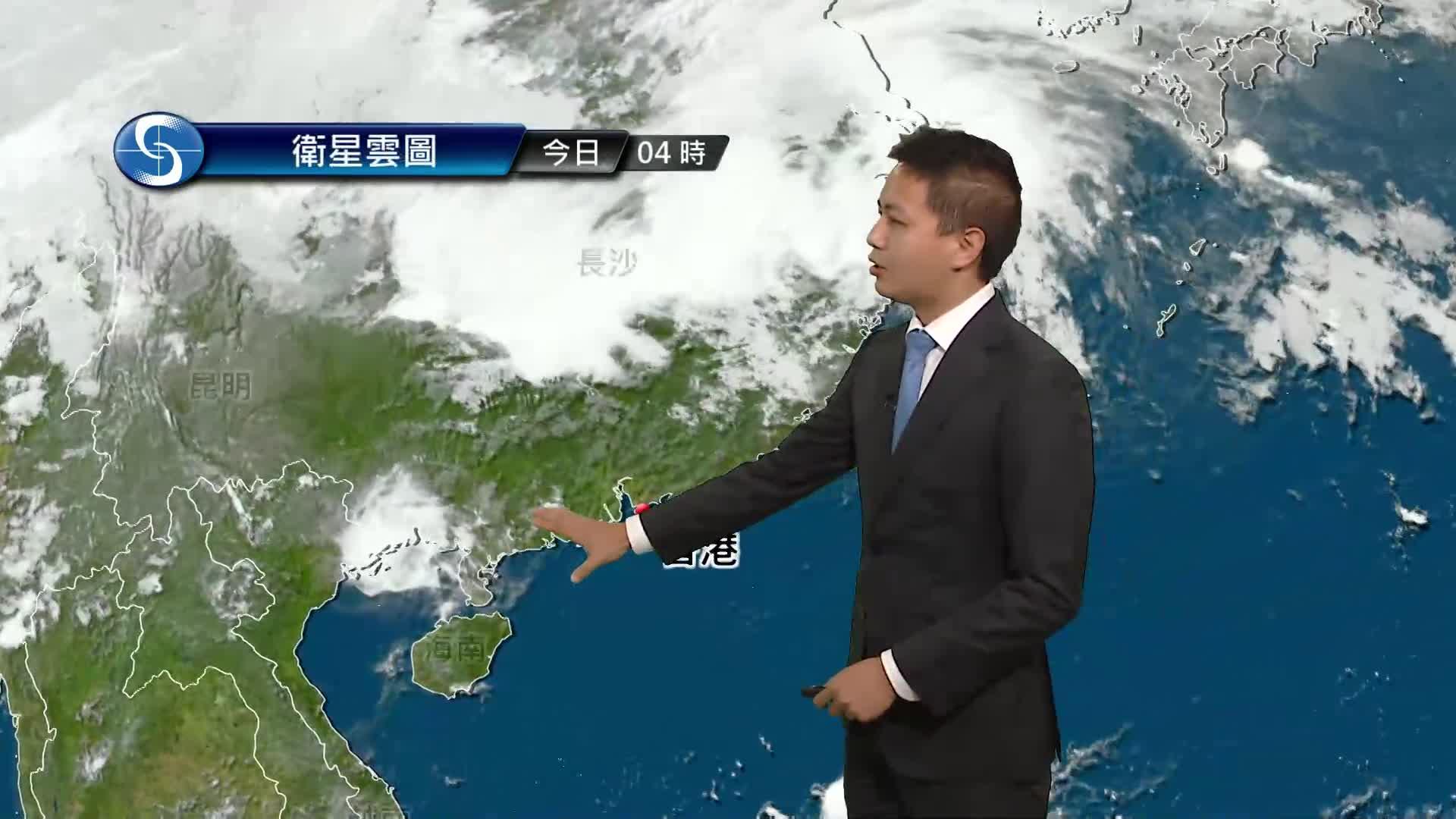 早晨天氣節目(05月11日上午7時) - 科學主任蔡子淳