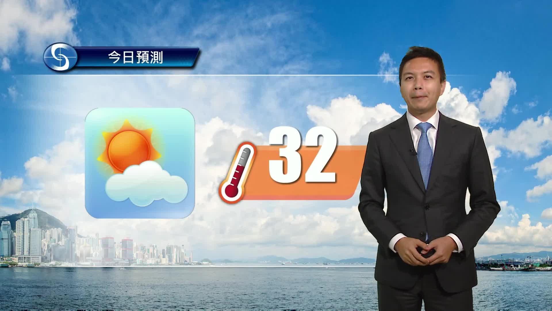 早晨天氣節目(05月11日上午8時) - 科學主任蔡子淳