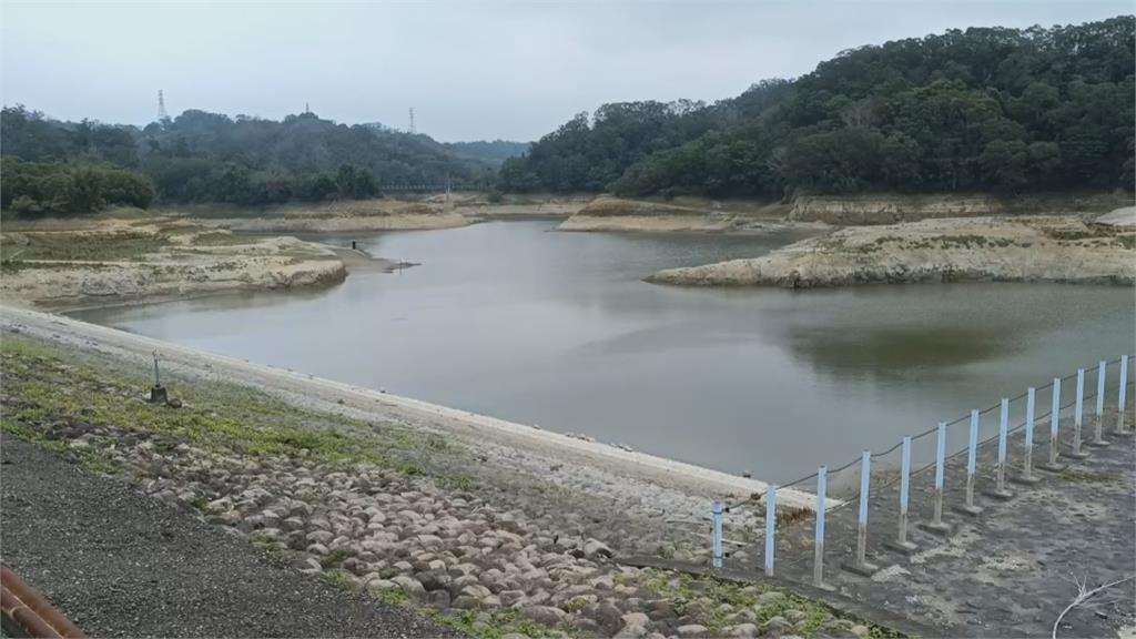 未來一週不降雨! 翡翠蓄水量已跌破7成