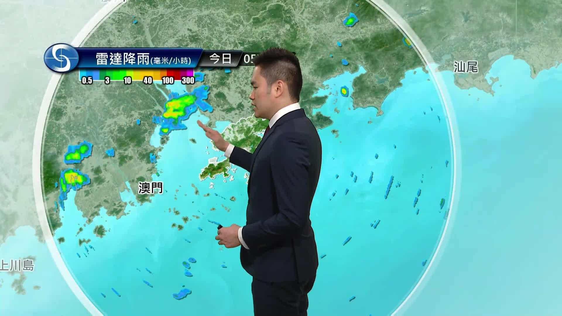 早晨天氣節目(05月14日上午7時) - 科學主任何俊傑