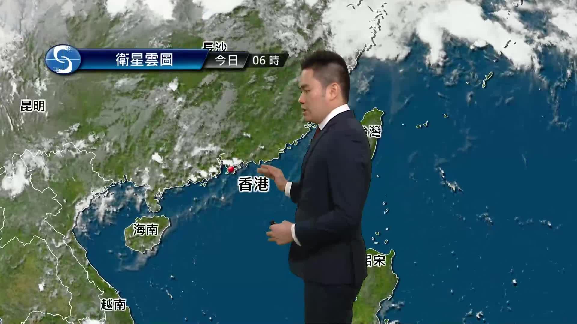 早晨天氣節目(05月14日上午8時) - 科學主任何俊傑