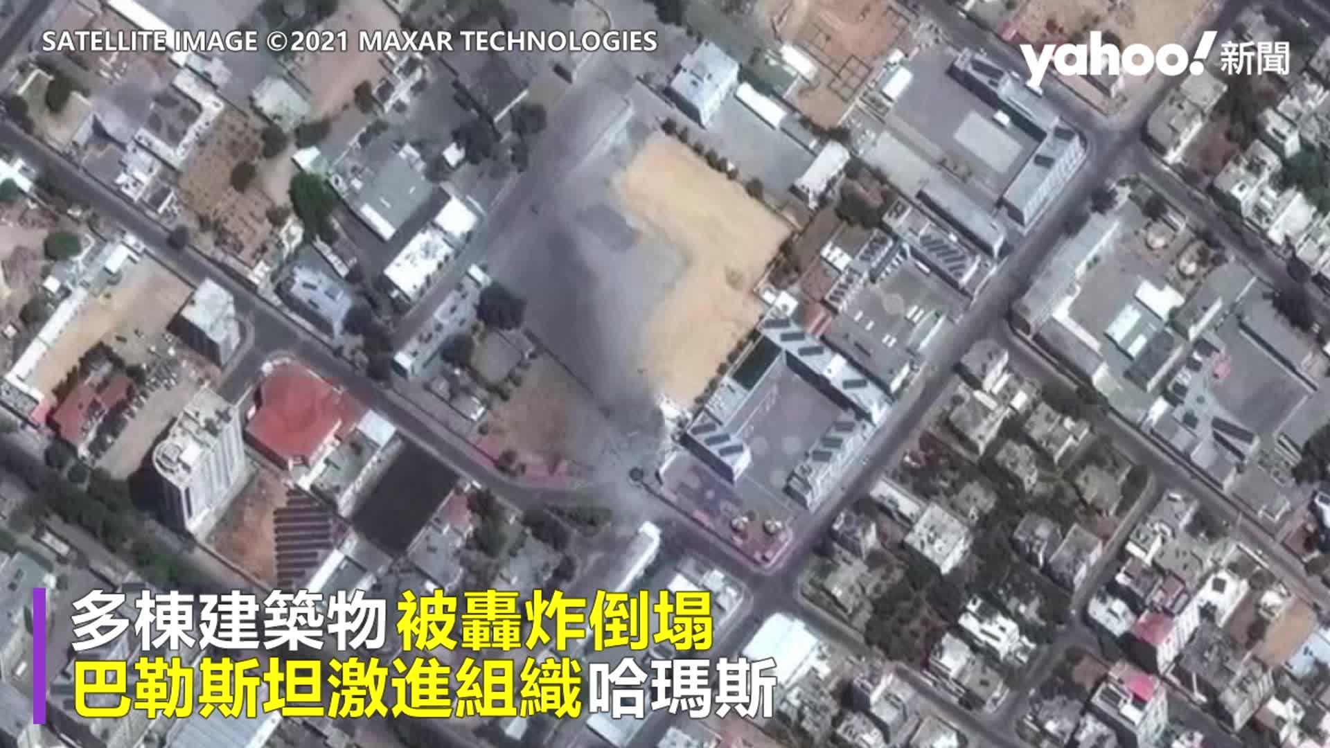 以巴瀕全面開戰 以色列地面部隊正式進攻 衛星照直擊加薩走廊遭狂轟慘況