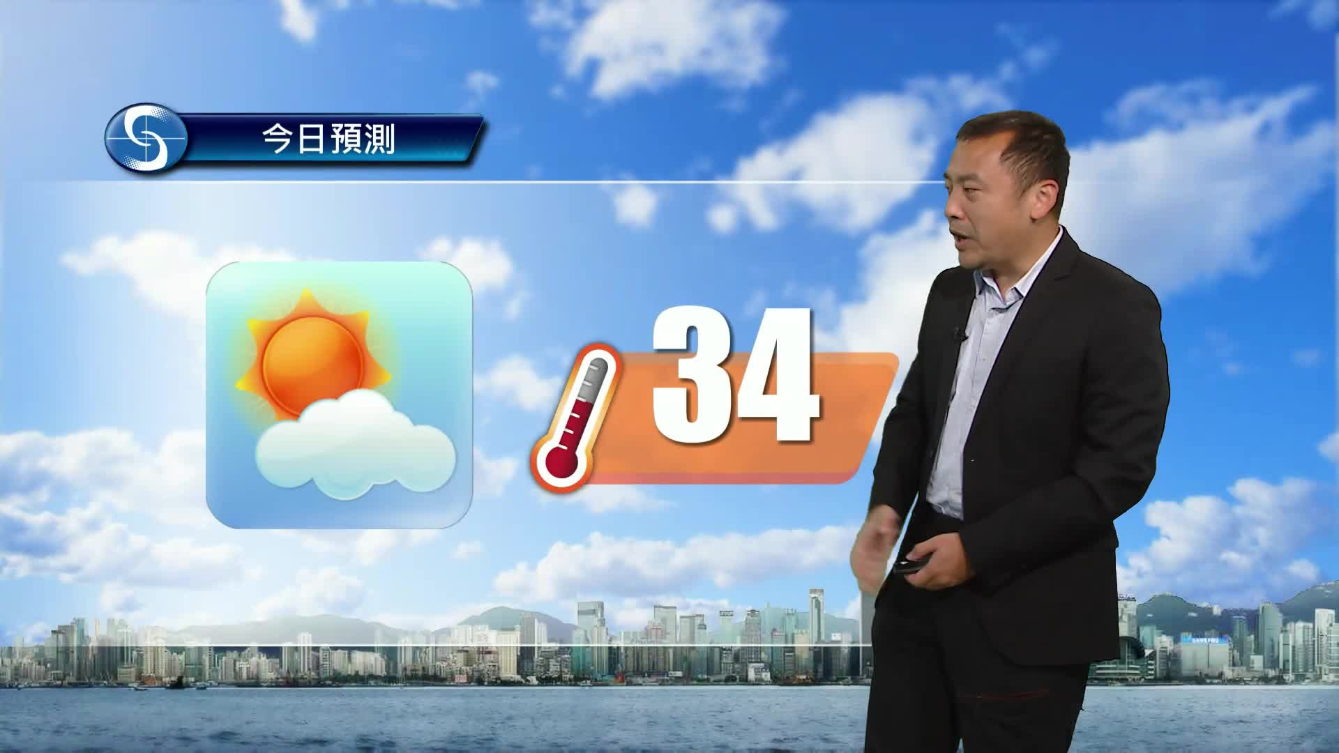 早晨天氣節目(05月15日上午8時) - 科學主任沈志泰