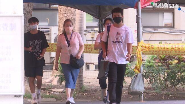 國中會考第一天 全台62名考生發燒