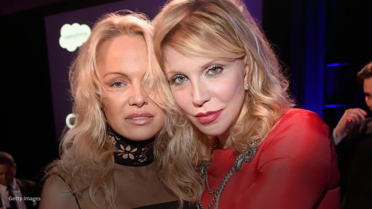 Courtney Love slams new Hulu series about Pamela Anderson