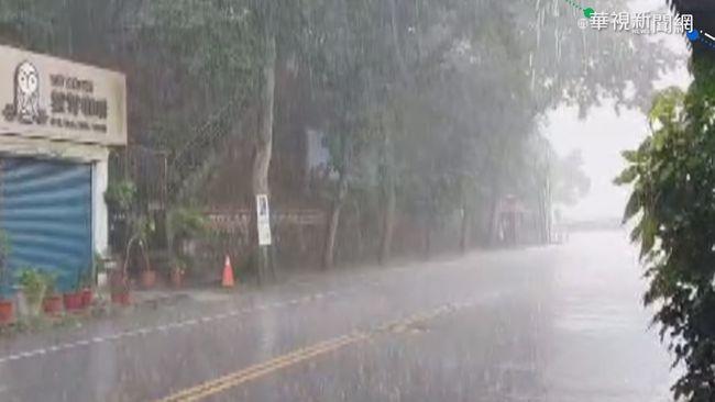 雨彈狂襲 石門水庫蓄水率漲至10%