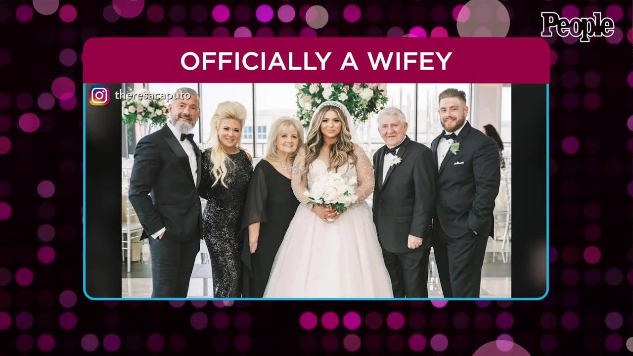 Theresa Caputo's Newly Married Daughter Victoria Steps Out with Husband After Long Island Wedding
