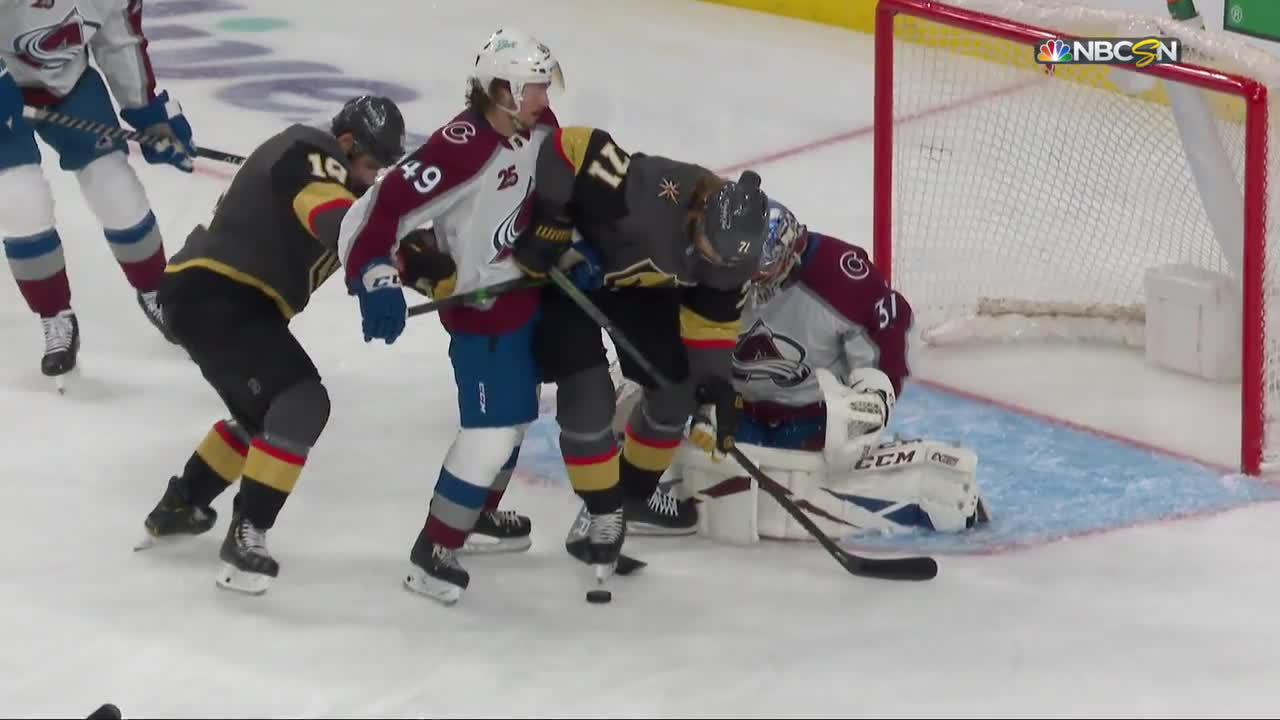 William Karlsson with a Goal vs. Colorado Avalanche