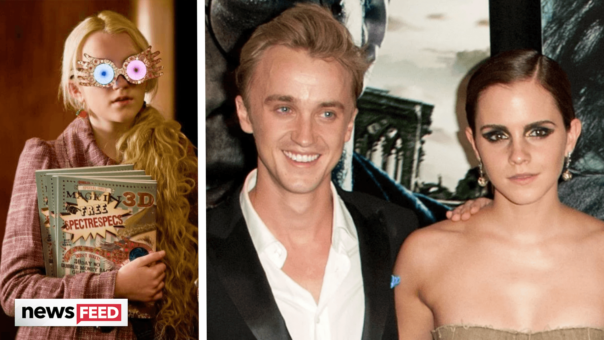 Harry Potter Star DISHES On Emma Watson & Tom Felton CRUSHES!