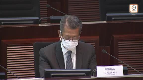 陳茂波:電子消費券7月初可登記 手續及發放安排今月下旬公布