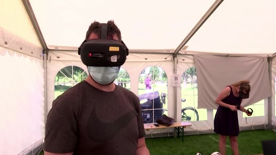 Denmark trials VR game to encourage vaccinations