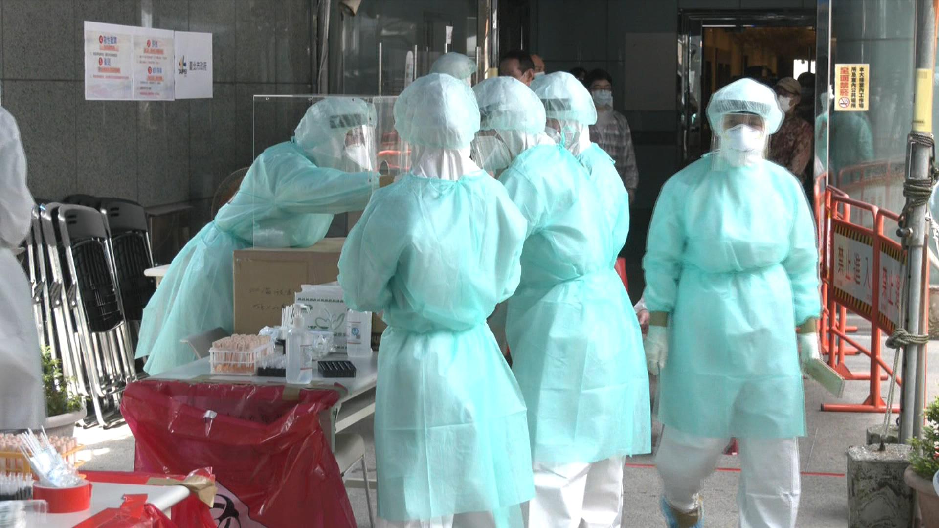 壹電視大樓啟動快篩站 11員工陽性「PCR全陰」