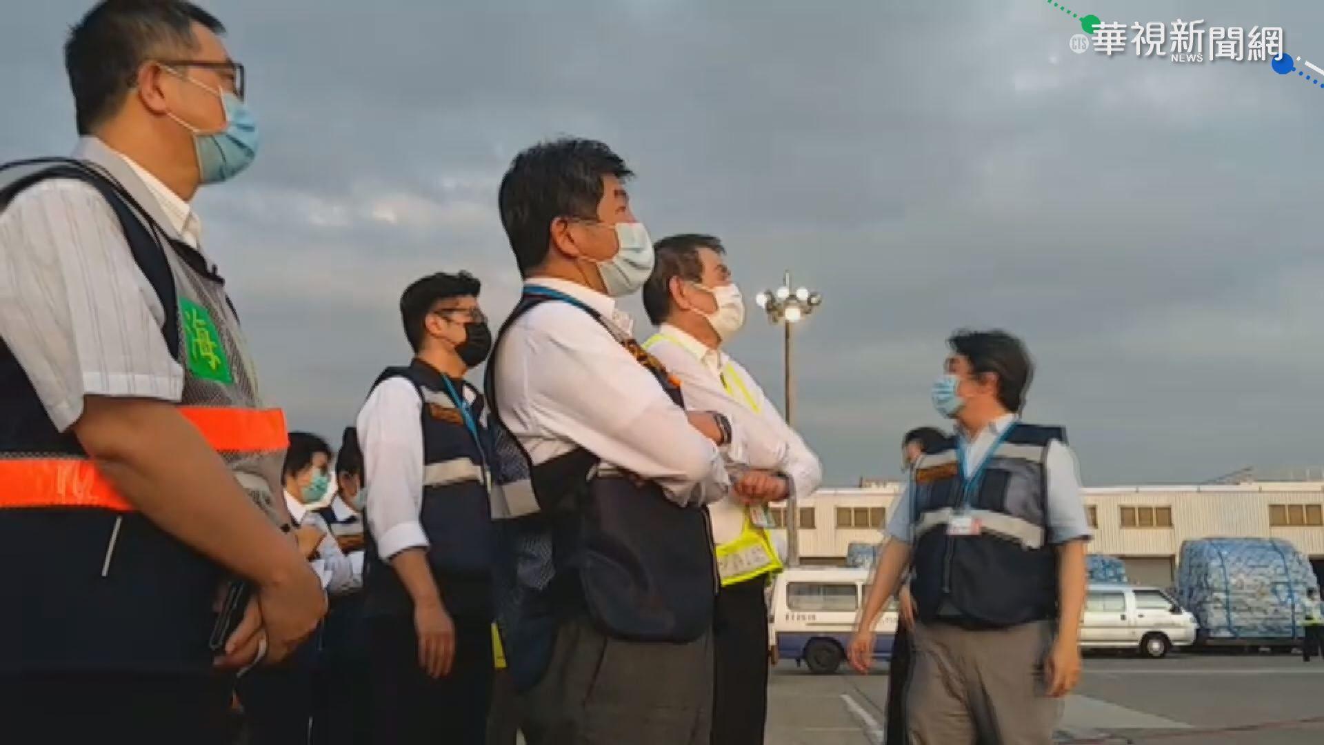 日首批負壓隔離艙抵台 陳時中親接機