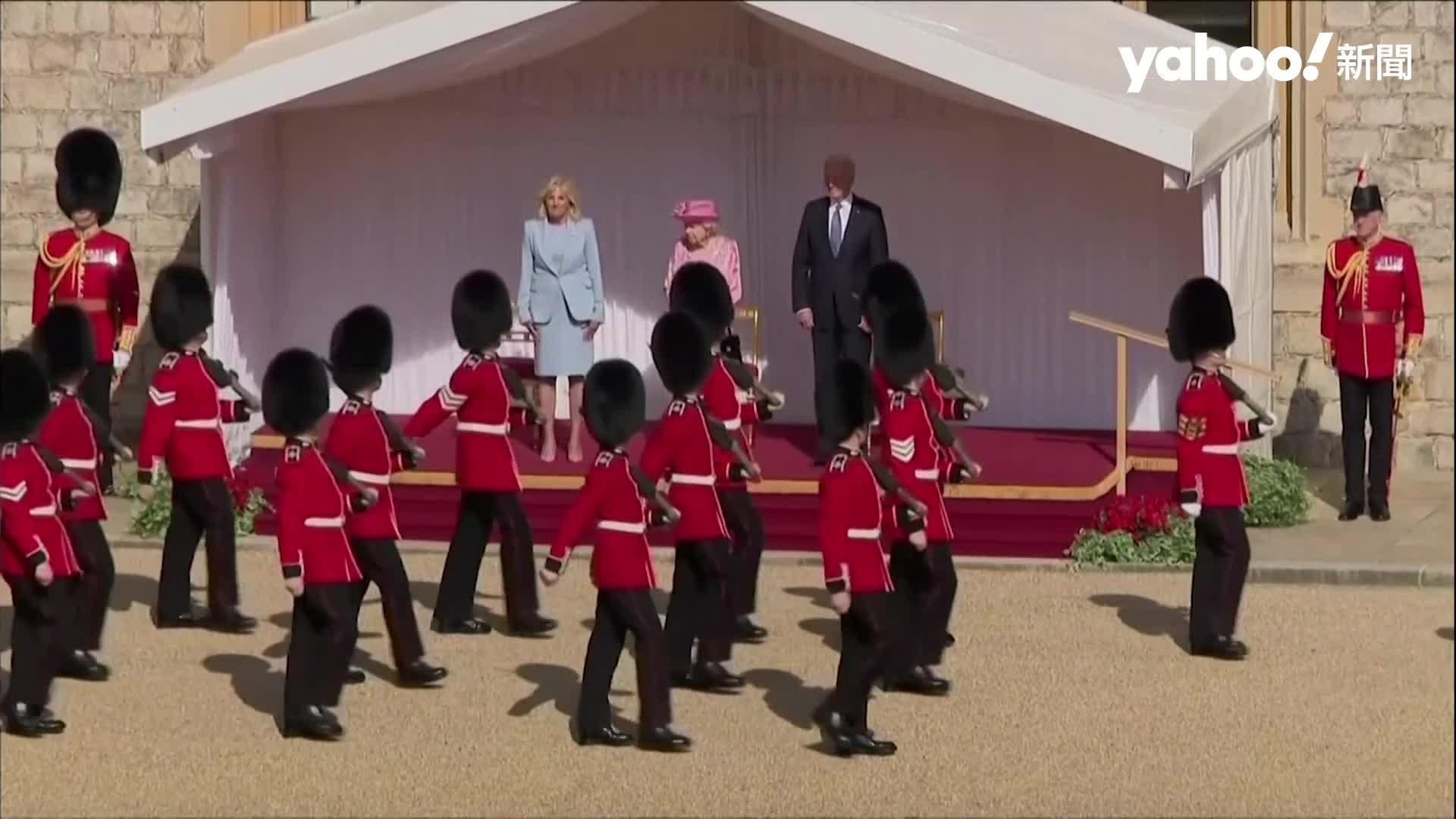 G7閉幕:重砲批中 氣候金援千億美元 女王溫莎城堡接見拜登