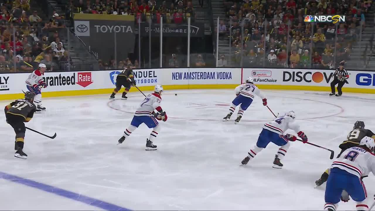 Alec Martinez with a Goal vs. Montreal Canadiens