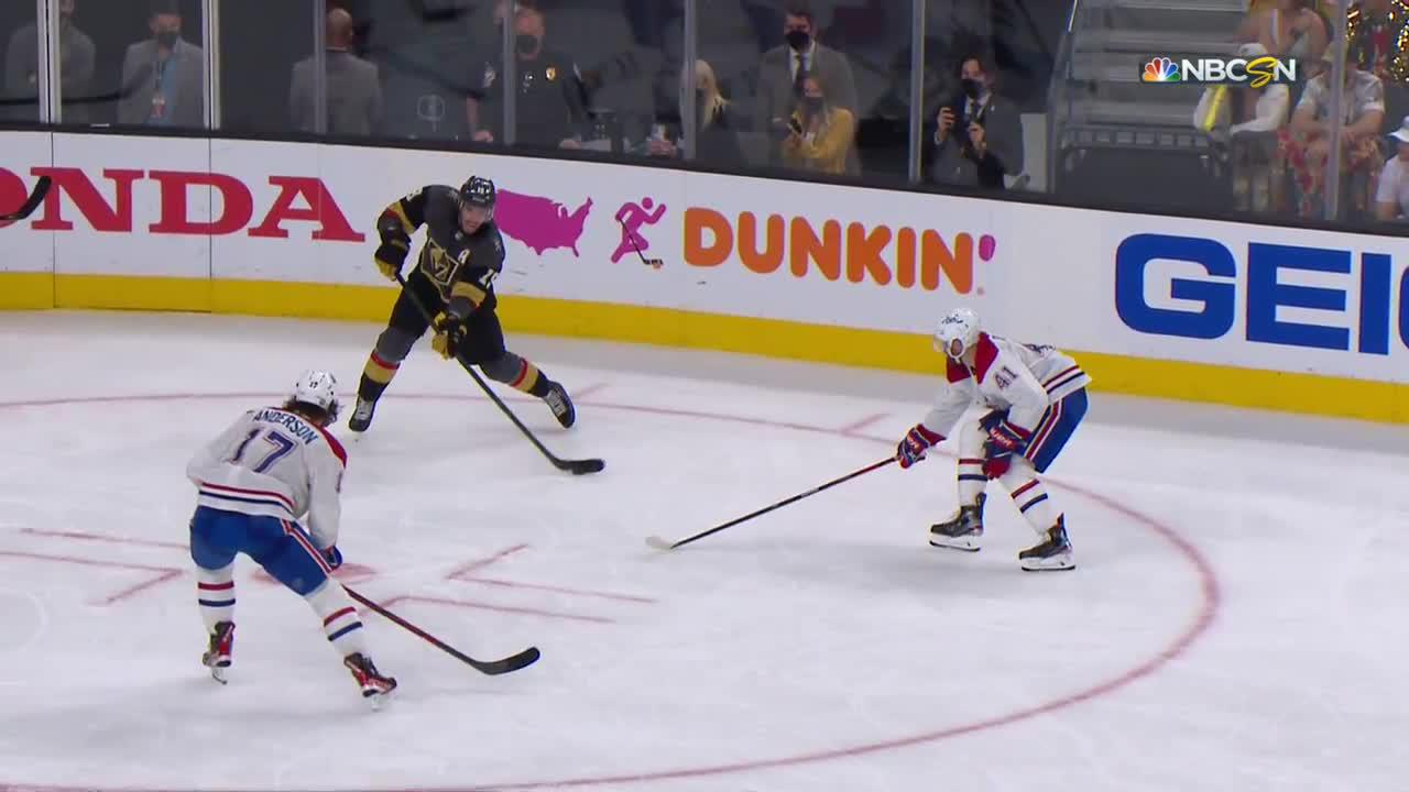 Nick Holden with a Goal vs. Montreal Canadiens