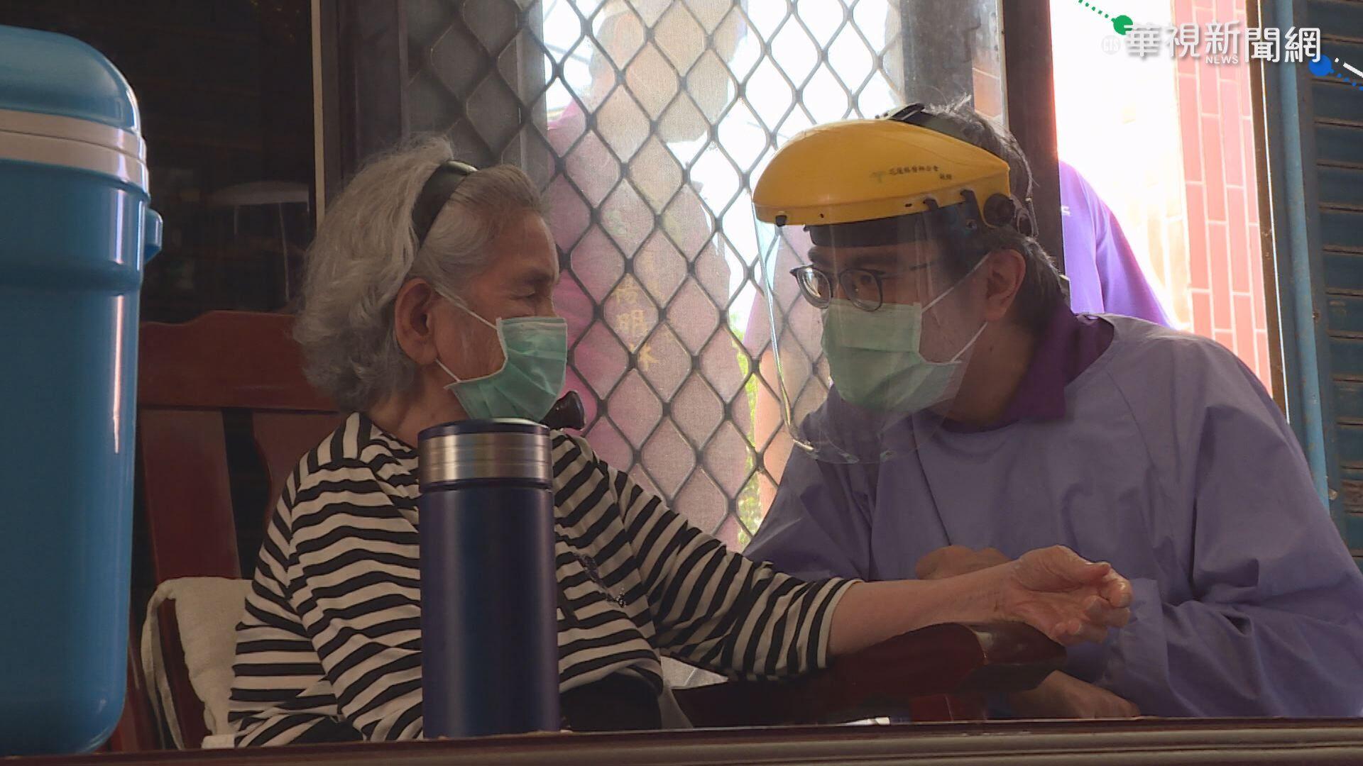 花蓮啟動巡迴醫療 替偏鄉長者打疫苗