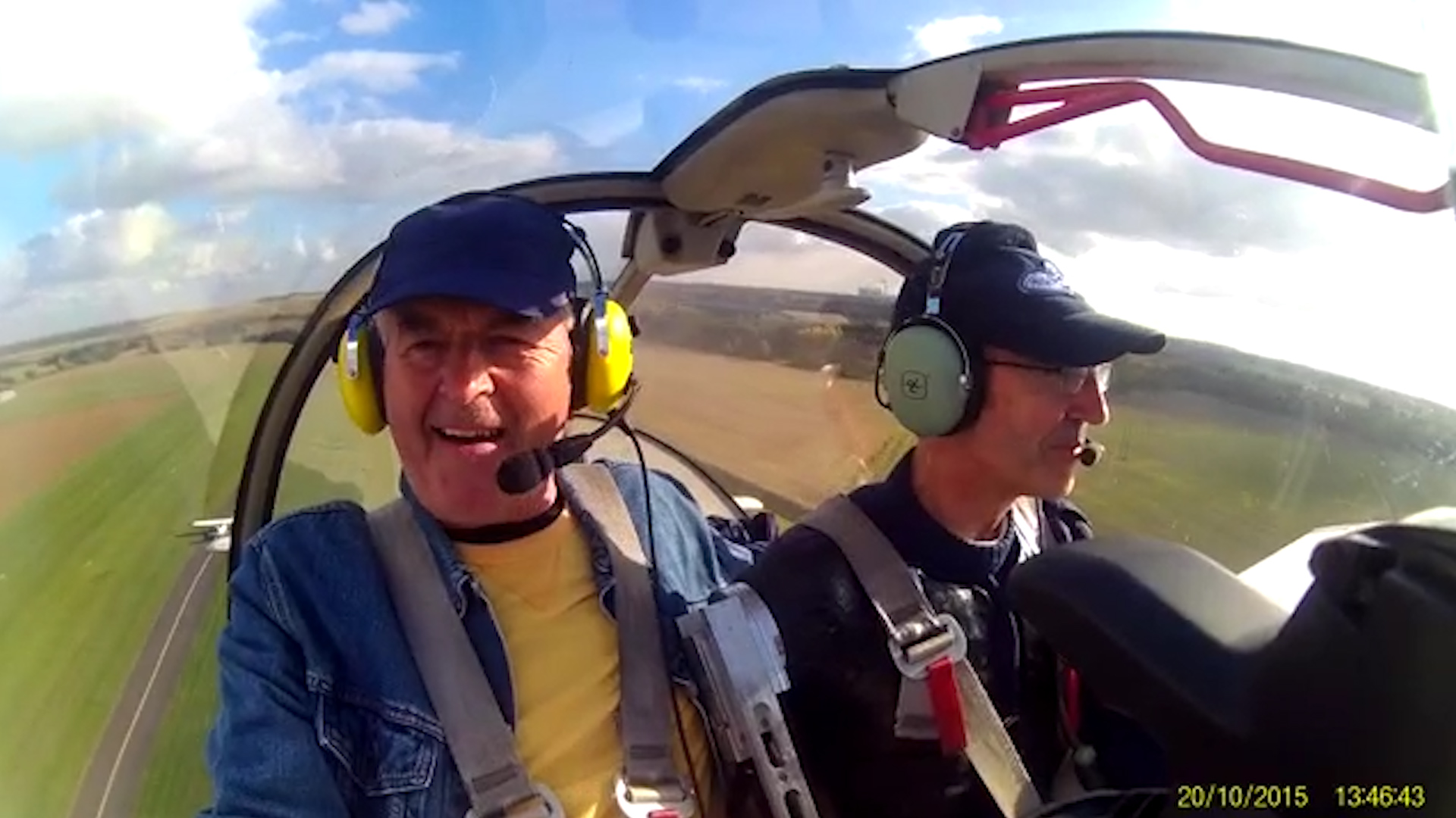 Steve takes to the skies