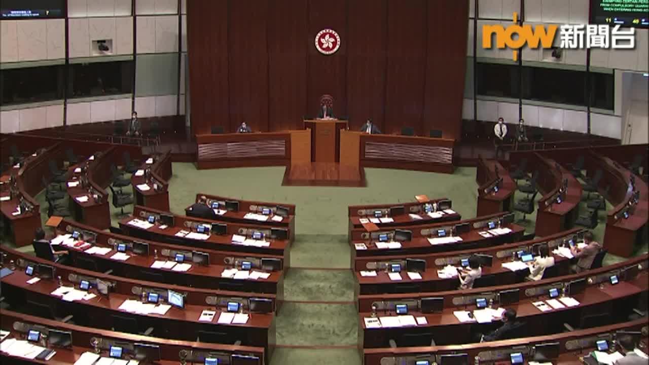 立法會通過改革主要官員問責制無約束力議案