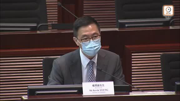 教職員接種率僅18% 楊潤雄指毋須學校報數問責