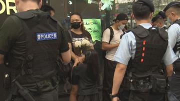 網上發起拜祭襲警案疑犯 警方不准市民在崇光外停留