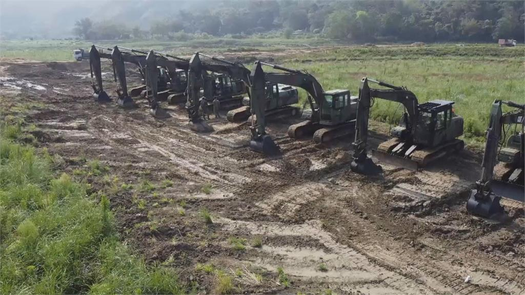 旱期清淤! 全台10水庫清出1650萬立方米淤泥