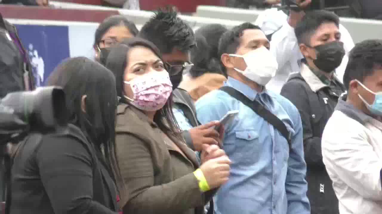 Perú celebra el primer concierto presencial masivo desde inicios de la pandemia