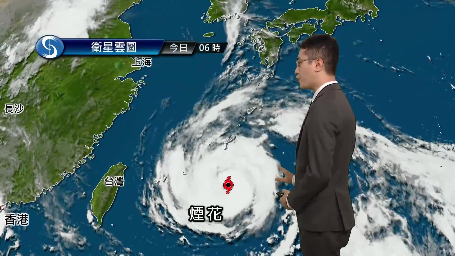 早晨天氣節目(07月21日上午8時) - 科學主任陳恩進