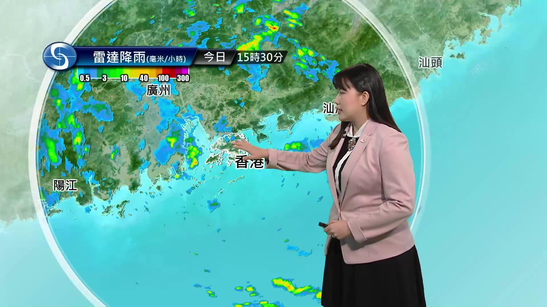 黃昏天氣節目(07月21日下午6時) - 科學主任梁恩瑜