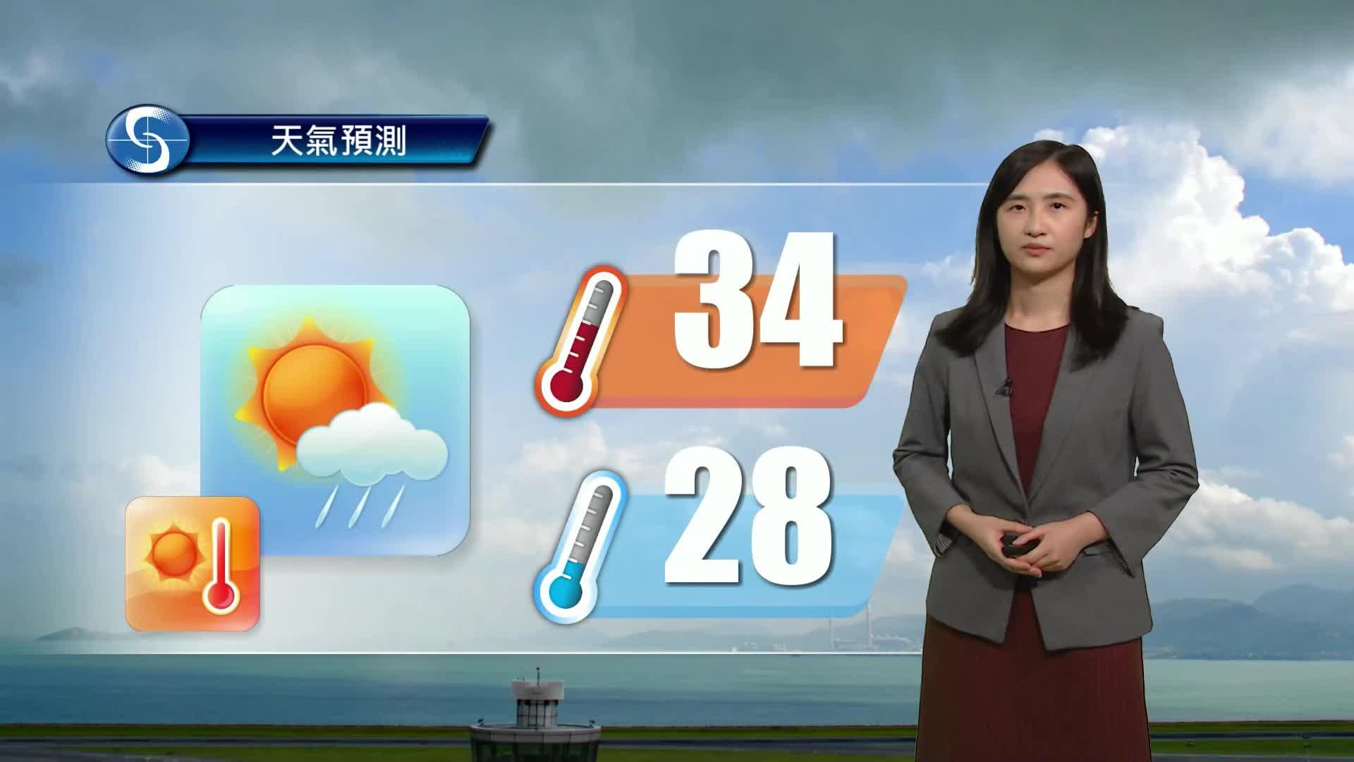 黃昏天氣節目(07月22日下午6時) - 科學主任譚曉晴