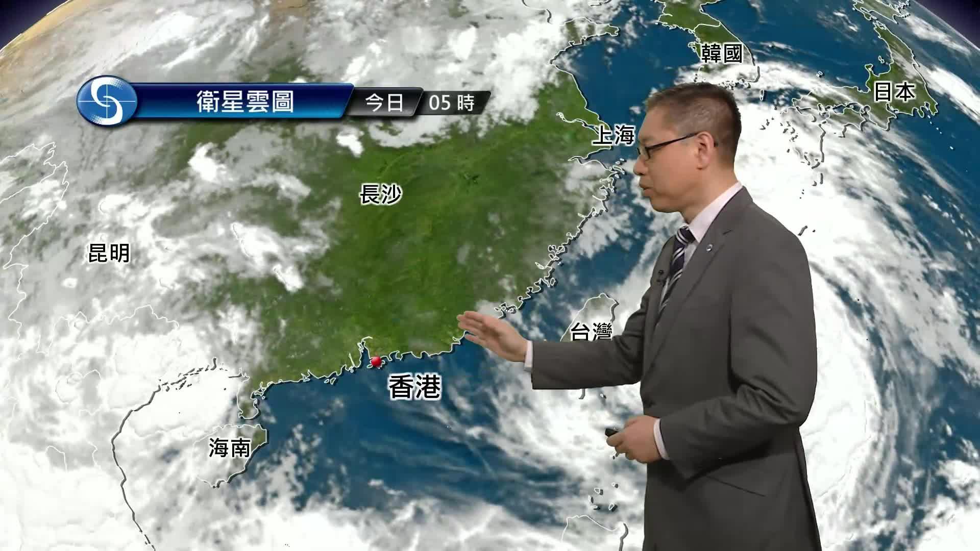 早晨天氣節目(07月23日上午7時) - 署理高級科學主任楊國仲