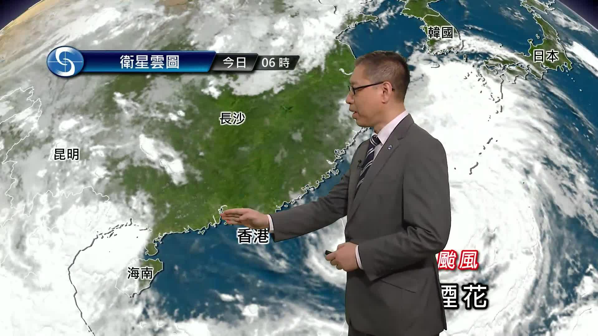 早晨天氣節目(07月23日上午8時) - 署理高級科學主任楊國仲