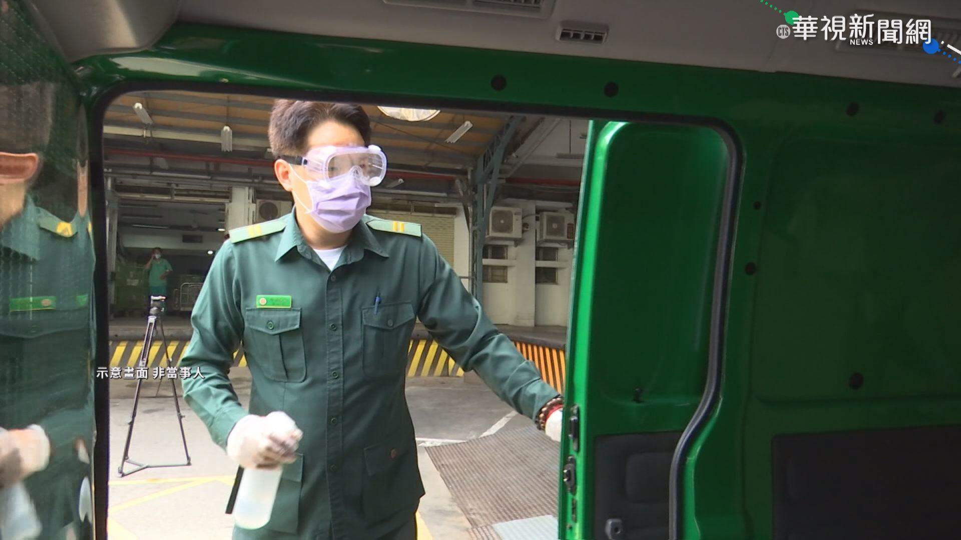 台北郵局一內勤確診 匡列6人今篩檢