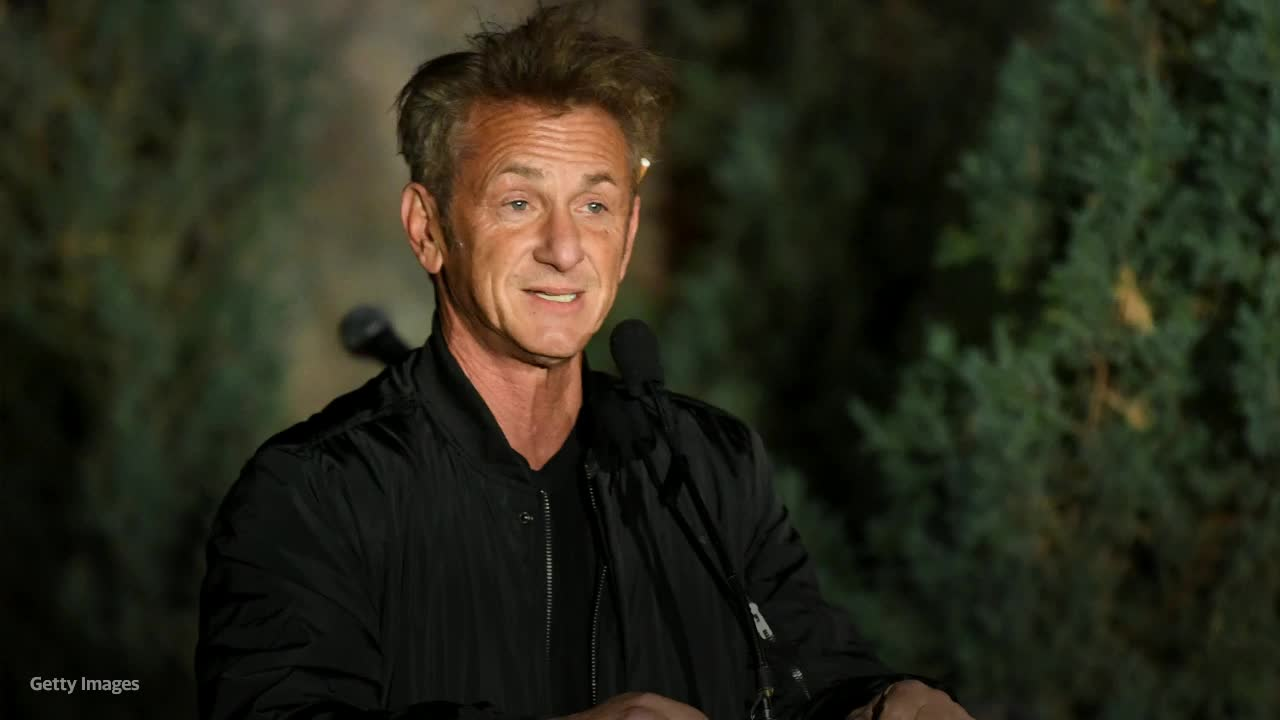 Sean Penn refuses to continue shooting TV series until entire crew is required to be vaccinated