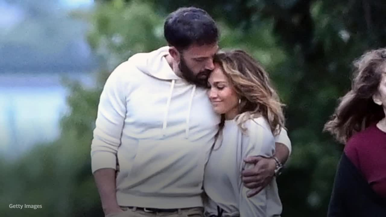 Jennifer Lopez and Ben Affleck cuddle up on Instagram for Leah Remini's birthday