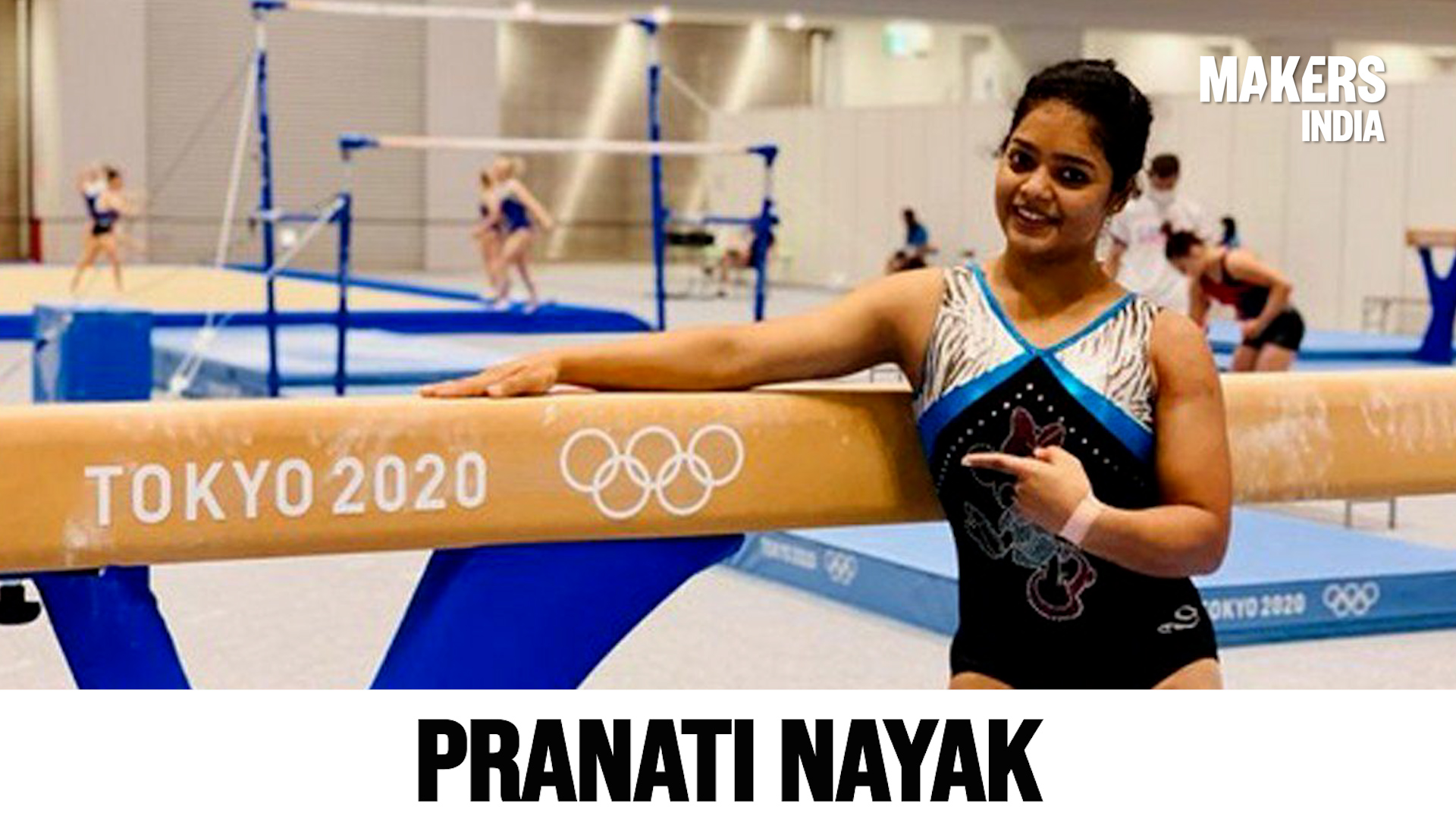 Meet Pranati Nayak, The Only Indian Gymnast To Qualify For Tokyo Games