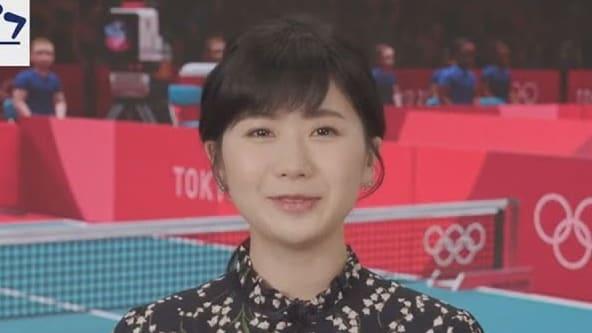 撇醜聞!福原愛重返東奧、擔任桌球講評 可能碰「中華隊」