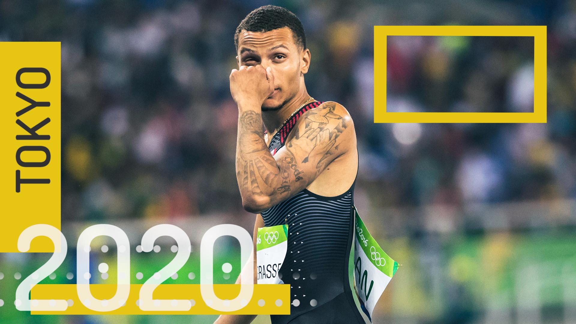 Defending silver medallist De Grasse, Brown move onto 200-metre semifinals