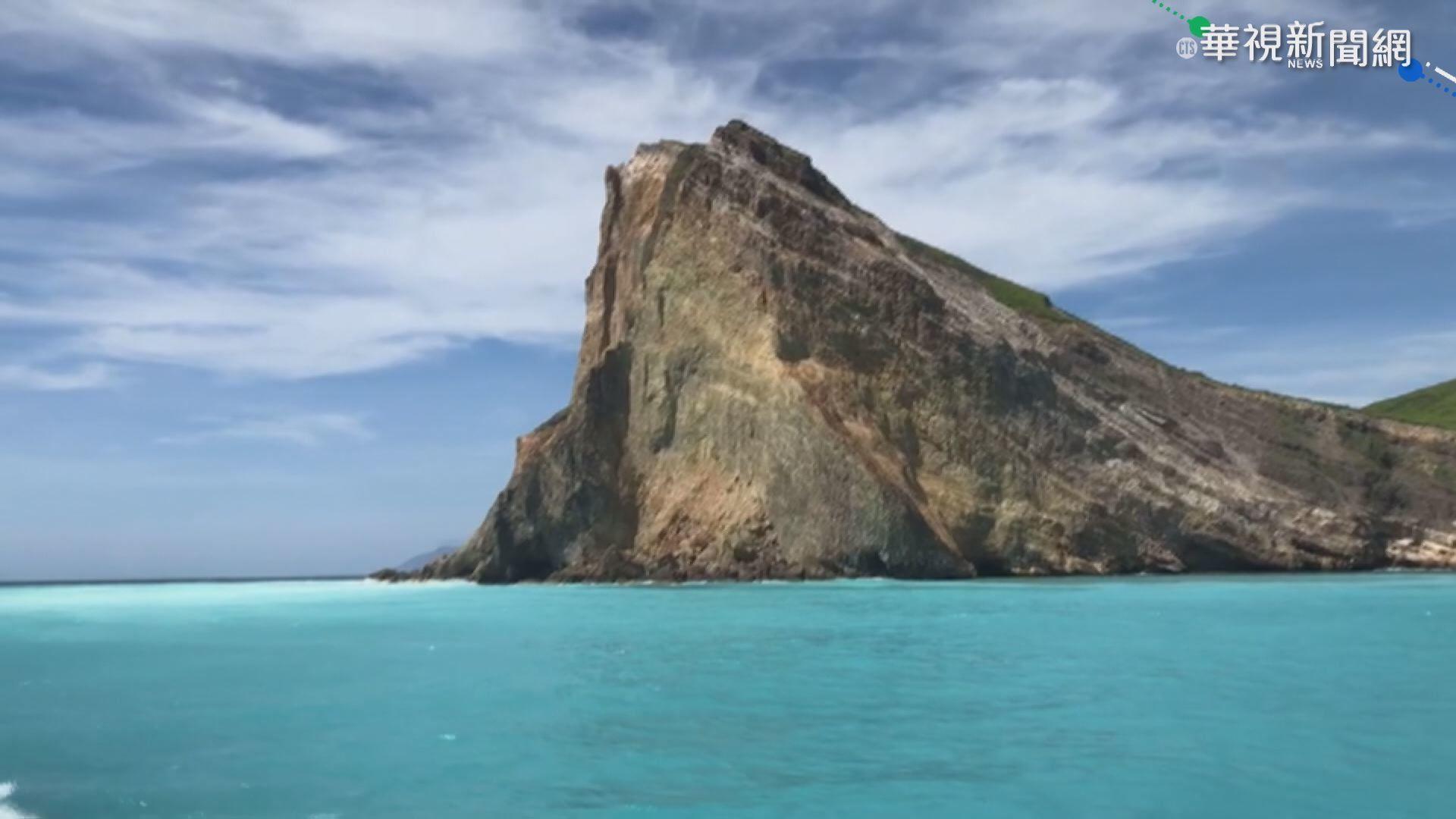 警戒降二級!龜山島開放首日百人搶登島