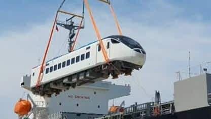 EMU3000型列車抵花蓮 將提升4成運能
